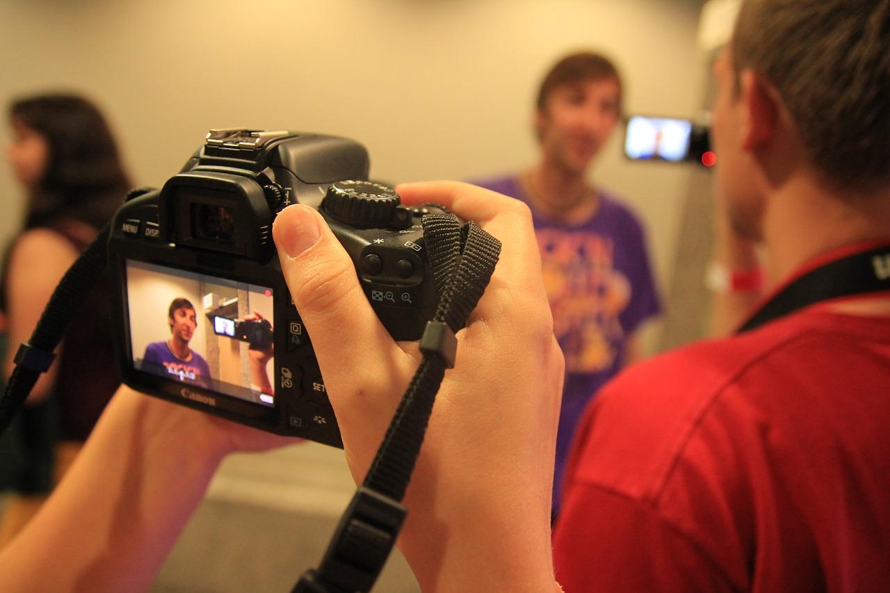 Filmen voor videomarketing